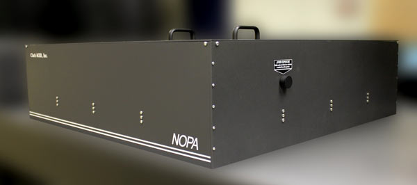 NOPA – Non-collinear Optical Parametric Amplifier